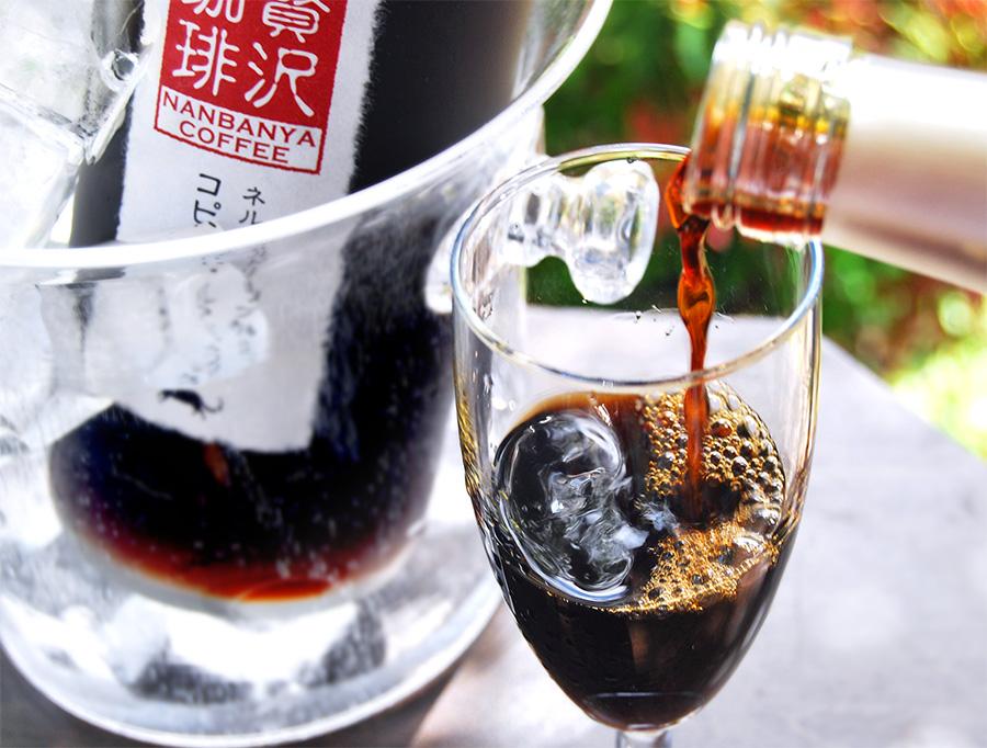 コク出し炭火焙煎 贅沢珈琲 〜ネルドリップ抽出リキッドコーヒー