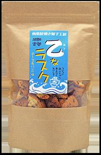 南蛮屋 焼き菓子工房『乙(おつ)なラスク』チーズ&バジル味