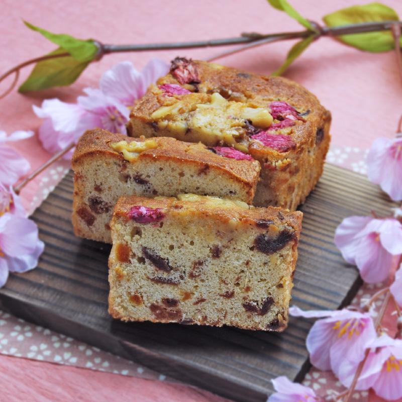 南蛮屋 焼き菓子工房『春うらら、桜のパウンドケーキ 2020』