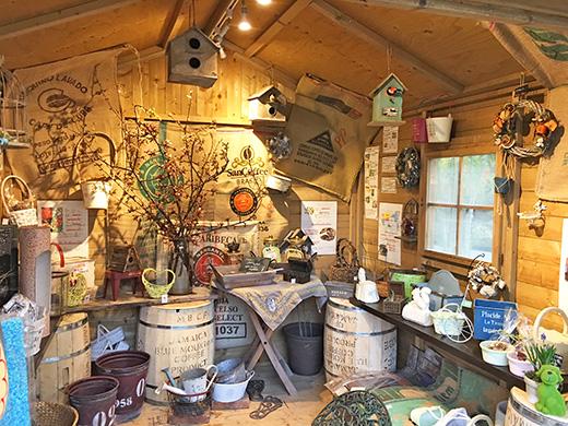 南蛮屋ガーデン倶楽部の小屋をリニューアル
