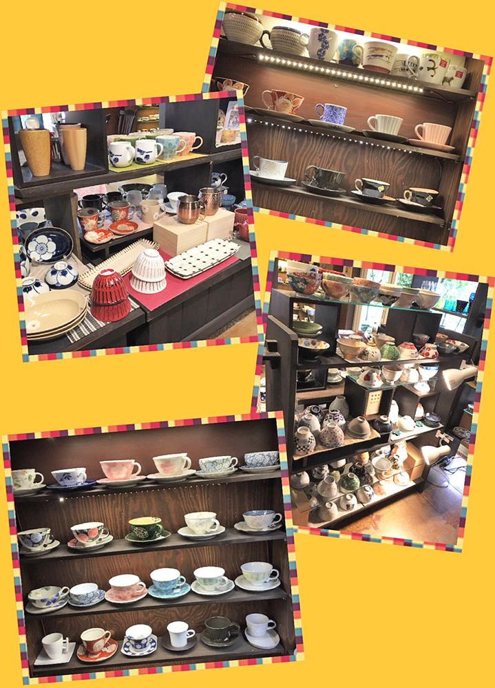 コーヒー・紅茶の碗皿や飯碗が続々と入荷