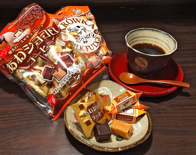 コーヒーによく合う美味しいお菓子