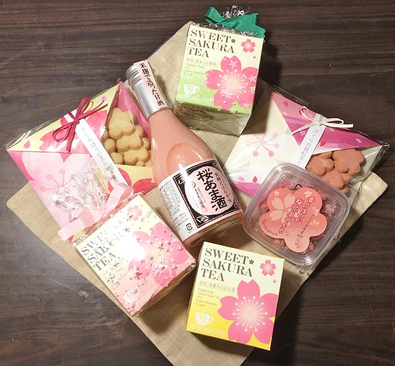 桜の商品が入荷