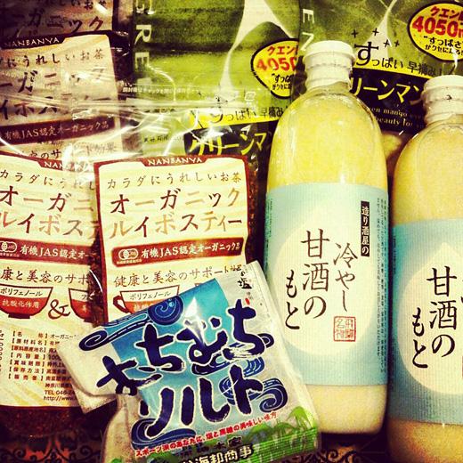 夏バテ・熱中症対策のドリンクとお菓子