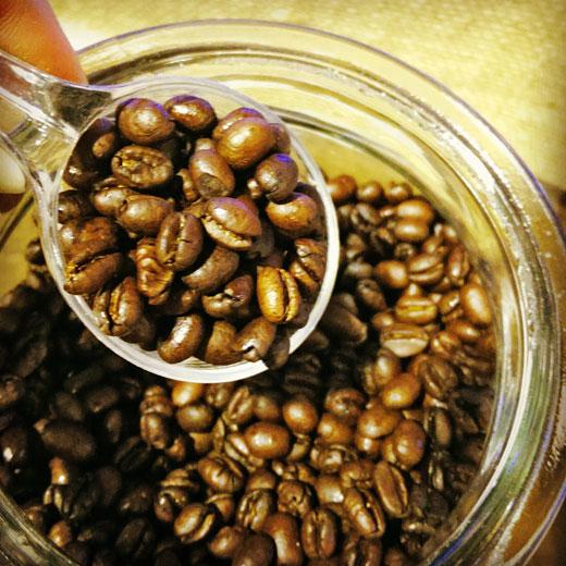 丸豆のコーヒー豆『ブラジル ピーベリー』