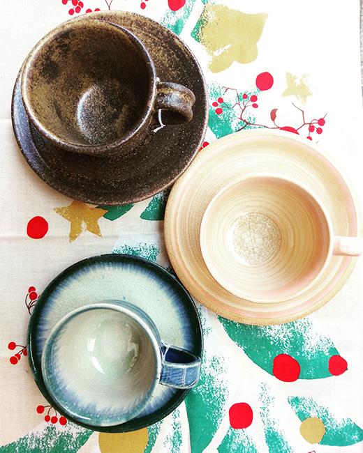 有田焼・信楽焼・萩焼・美濃焼のコーヒーカップ