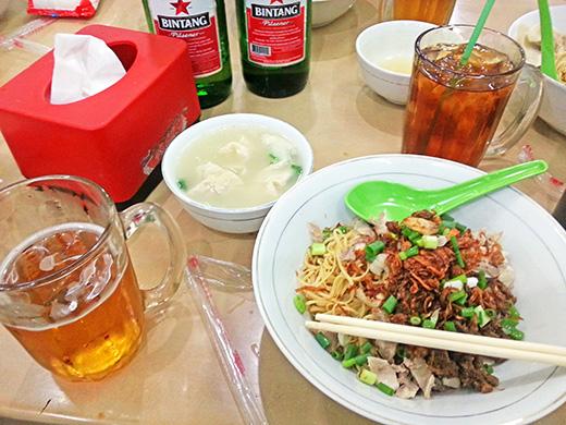 インドネシアの麺料理