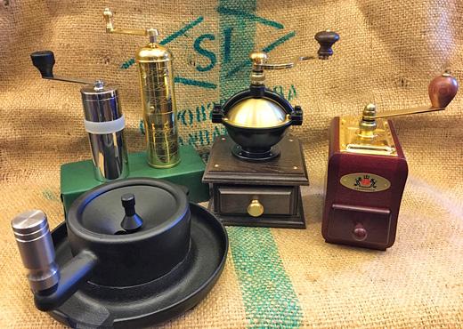 ザッセンハウス・鋳鉄のコーヒーミルなど新商品も入荷