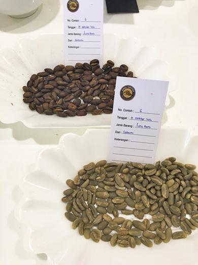ロングベリーのコーヒー生豆