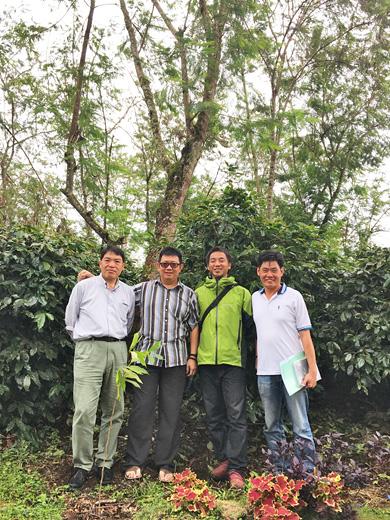 インドネシア コーヒー豆 産地訪問