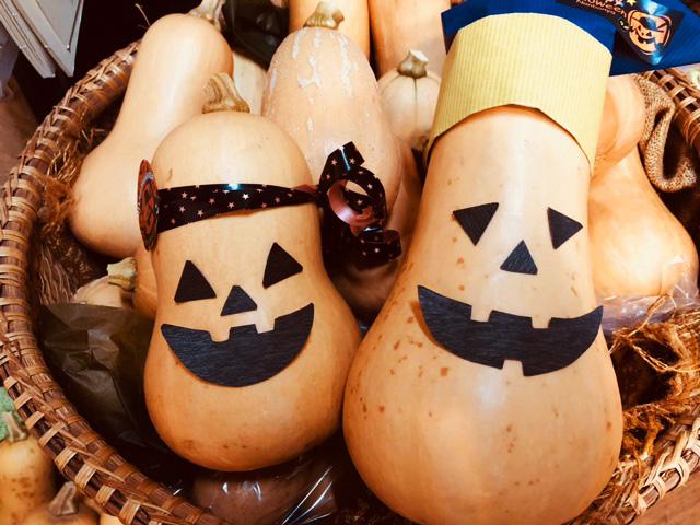 ハロウィンバターナッツかぼちゃプレゼント!