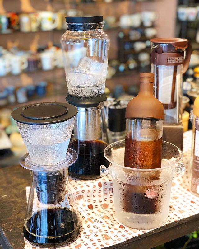水出しコーヒー器具