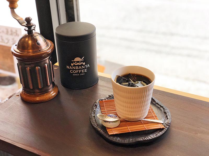 水出しアイスコーヒーのお味見