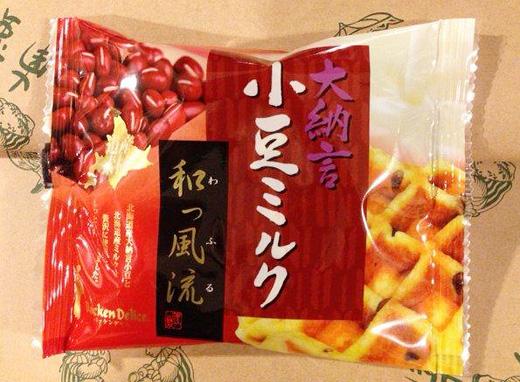 大納言 小豆ミルク味 和っ風流(ワッフル)