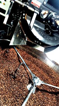 30kgコーヒー豆炭火焙煎機