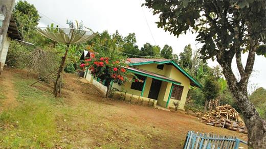 クシアントゥリさんの家
