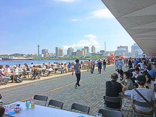横浜港大桟橋マルシェ2017